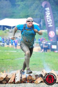 Finishing at Spartan Super in Seattle